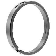 Bright Tangerine 114mm/104mm Clamp on Ring