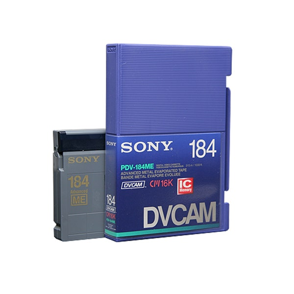 Sony PDV184ME DVCAM Digital Video Cassette Tape with IC Memory Chip