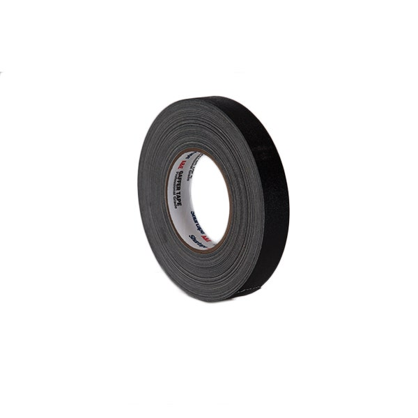 "Shurtape 1"" Gaffer Tape Cold Weather (Camera Tape) - Black"