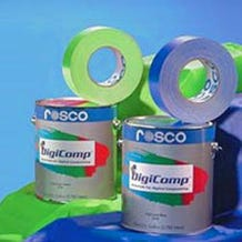 Rosco Green DigiComp Paint - 1 Gallon (Ground Only)