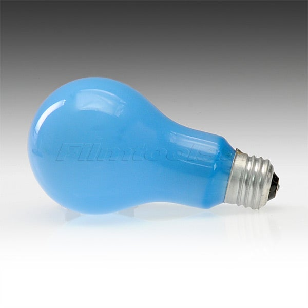 Ushio BCA A-21 NO. B1 BLUE Incandescent Projector Light Bulb 4800K (250W/120V)