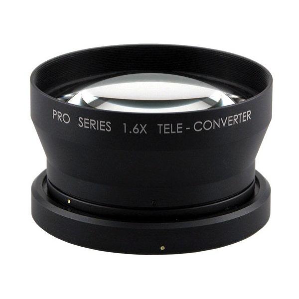 Century Precision Optics 1.6X Tele-Converter Lens for Canon XF300/305 Camcorder