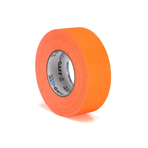 "Pro-Gaff 2"" Gaffer Tape - Fluorescent Orange"