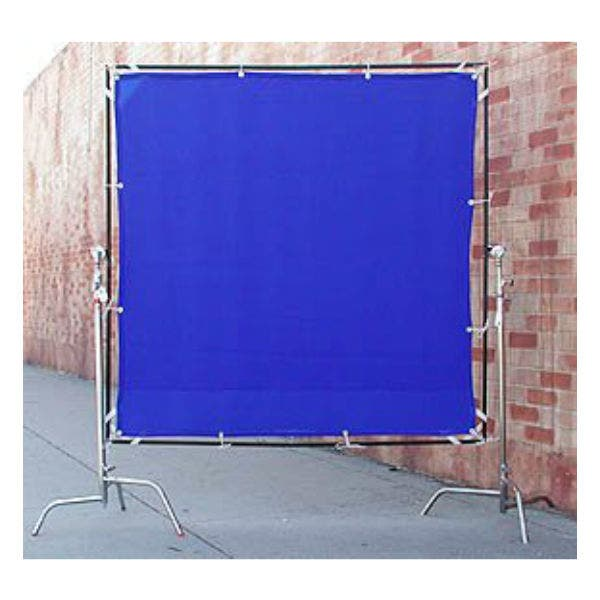Matthews Studio Equipment 6 x 6' Butterfly/Overhead Fabric - Blue Screen