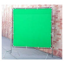 Matthews Studio Equipment 6 x 6' Butterfly/Overhead Fabric - Green Screen