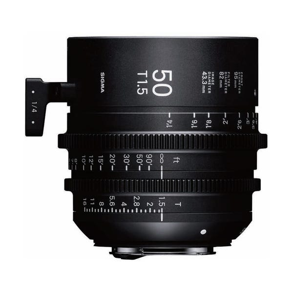 Sigma 50mm T1.5 FF High-Speed Prime - PL Mount