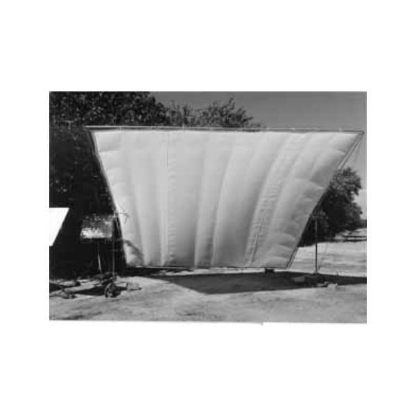 Matthews Studio Equipment 8 x 8' Butterfly/Overhead Fabric - White China Silk