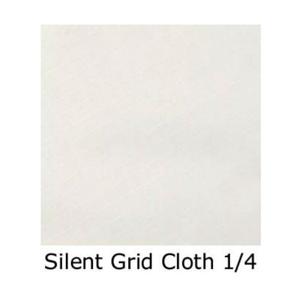 Matthews Studio Equipment 12 x 12' Butterfly/Overhead Fabric - Silent 1/4 Gridcloth