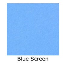 Matthews Studio Equipment 20 x 20' Butterfly/Overhead Fabric - Blue Screen