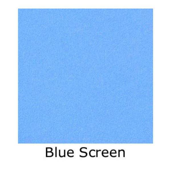 Matthews Studio Equipment 12 x 12' Butterfly/Overhead Fabric - Blue Screen