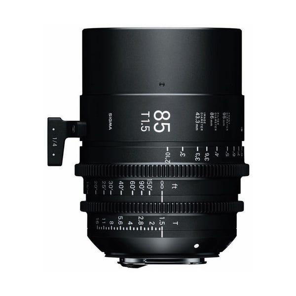 Sigma 85mm T1.5 FF High-Speed Prime - EF Mount