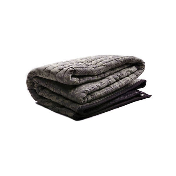 "Matthews Studio Equipment 78"" x 72"" Sound Blanket / Furniture Pad with Grommets - Camo"