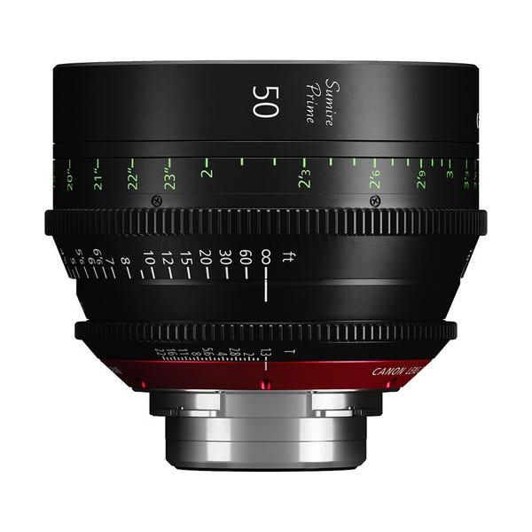 Canon 50mm Sumire Prime T1.3 - PL Mount
