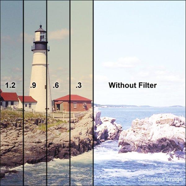 "Tiffen 4 x 4"" 85 Neutral Density (ND) 0.3 Combination Filter"