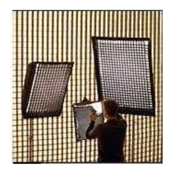 "Chimera Lighttools 54 x 72"" Soft Egg Crate for Large Lightbanks - 40 Degrees"