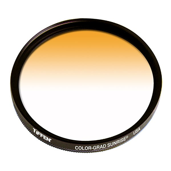 Tiffen 58mm Color Graduated Sunrise Filter