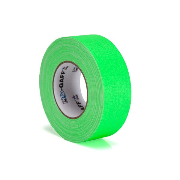 "Pro-Gaff 2"" Gaffer Tape - Fluorescent Green"
