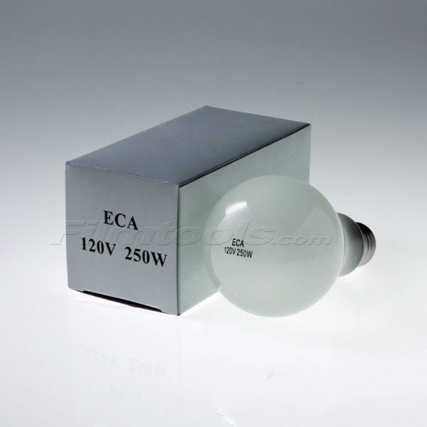 Ushio ECA A-23 3200K Incandescent Projector Light Bulb 3200K (250W/120V)