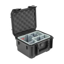 SKB iSeries 0907-6 Case with Think Tank Photo Dividers & Lid Foam (Black)