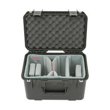 SKB iSeries 1610-10 Waterproof Case with Video Dividers and Lid Foam (Black)