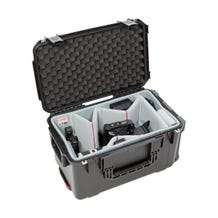 SKB iSeries 2213-12 Case with Think Tank Video Dividers & Lid Foam (Black)