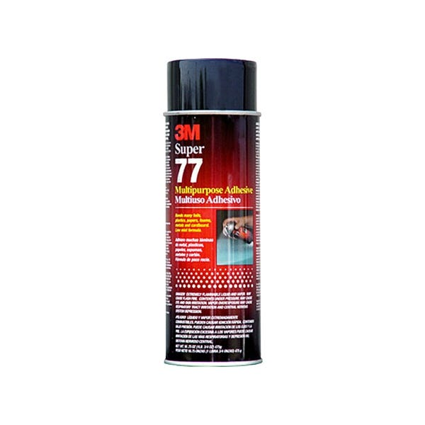 3M 77 Adhesive Spray 17 oz. (Ground Only)