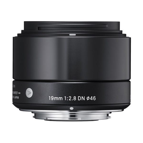 Sigma 19mm f/2.8 DN Lens - E-Mount (Black)