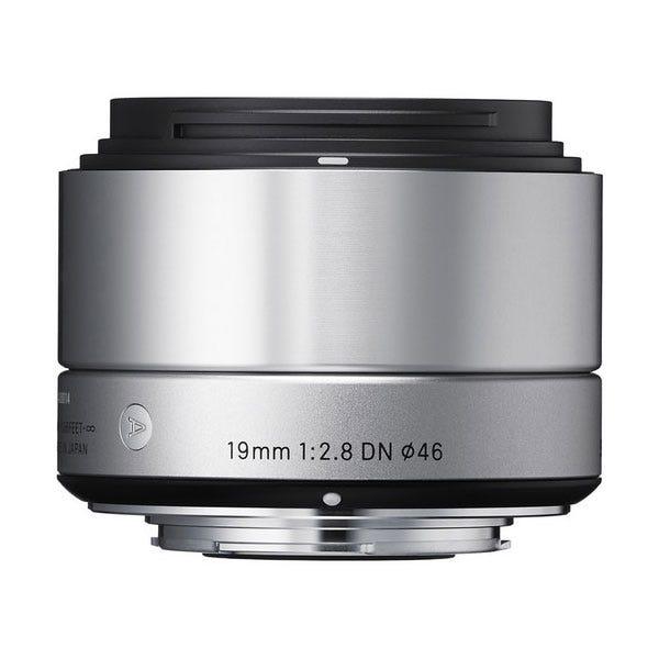 Sigma 19mm f/2.8 DN Lens - E-Mount (Silver)