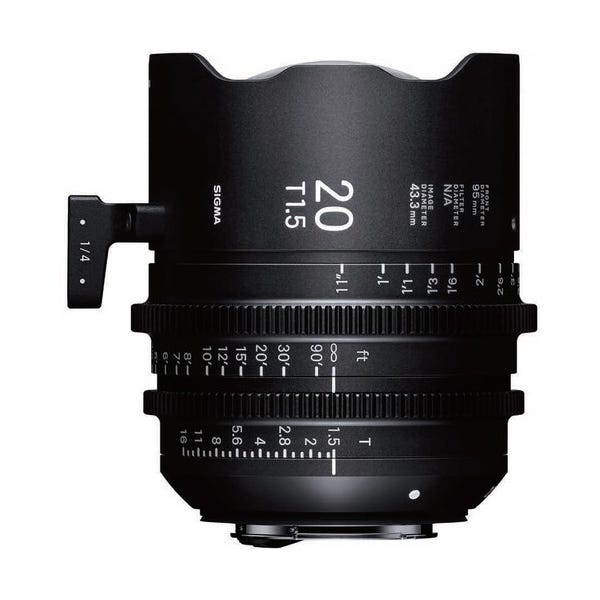 Sigma 20mm T1.5 FF High-Speed Prime - E Mount