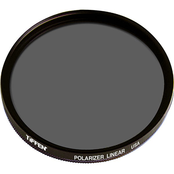 Tiffen 46mm Linear Polarizer Glass Filter