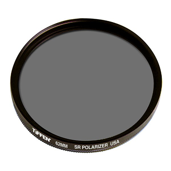 Tiffen 62mm Linear Polarizer Glass Filter