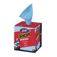 Scott Professional Multi-Purpose Shop Towels In A Box - Blue (200 Count)