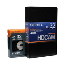 Sony HDCAM 32min Digital Video Tape - Small