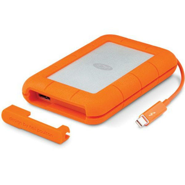 LaCie 1TB Rugged Thunderbolt and USB 3.0 Hard Drive - Open Box