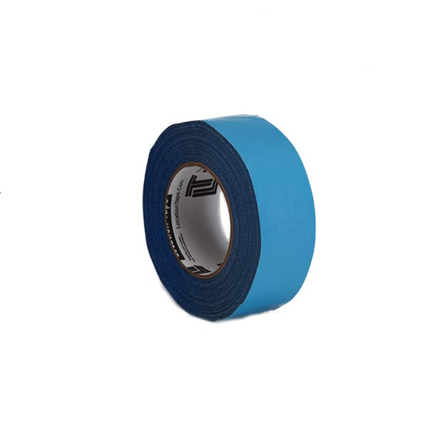 """Location Tape 2"""" Double-Sided Adhesive Tape - Blue"""