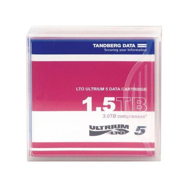 Tandberg 1.5TB LTO Ultrium 5 Data Cartridge