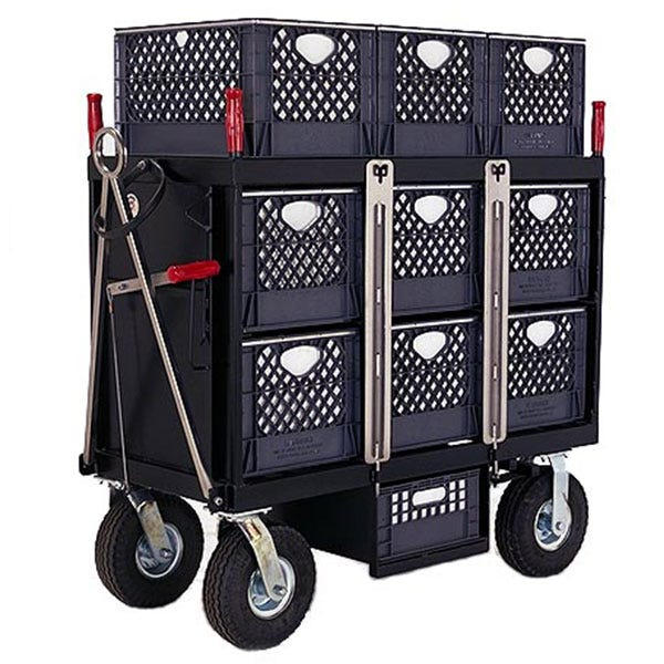 Backstage 6-Crate Horizontal Set Box Studio / Stage Cart