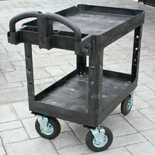 "Rubbermaid Camera Cart - 8"" Pneumatic Tire Wheels"