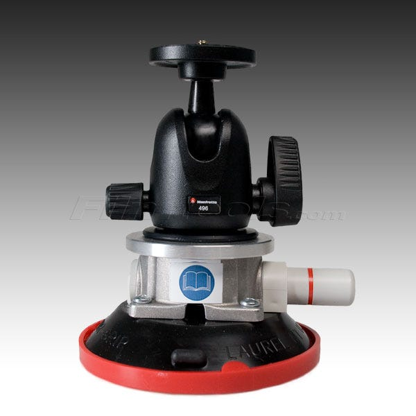 """Gripper 496  - The Filmtools ProBall 4.5"""" Vacuum/ Suction-Cup Camera Mount"""