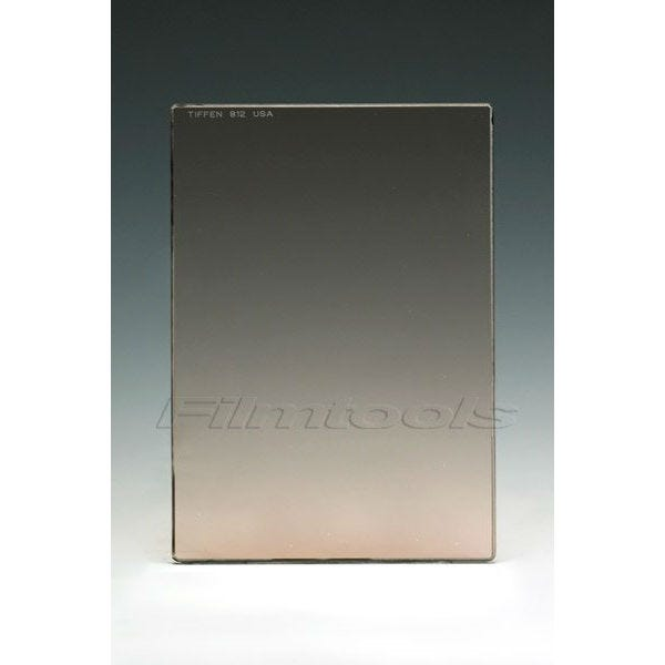 "Tiffen 4 x 5.65"" 812 Warming Glass Filter"