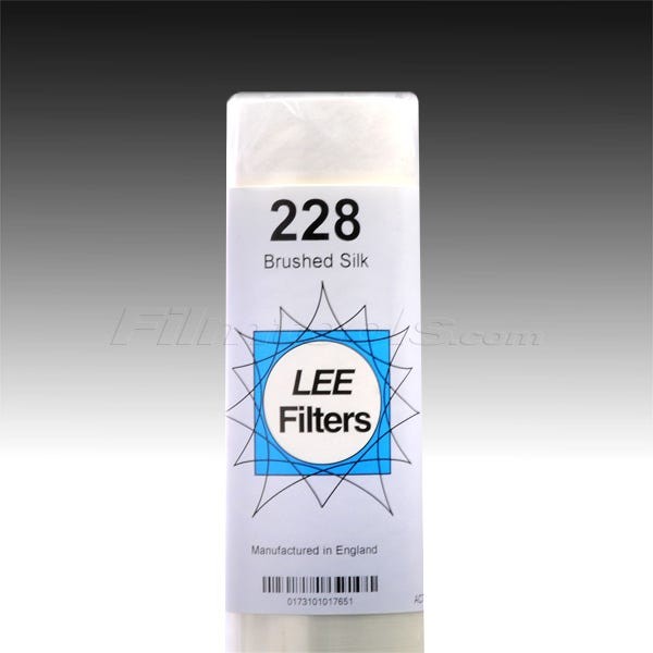 """LEE Filters 228R/1 Brushed Silk 1"""" Core - 48"""" x 25"""""""