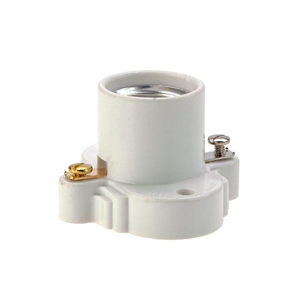 Thermoset Medium Base Clete Socket - Cooper