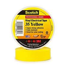 "3M 3/4"" Scotch Vinyl Electrical Tape - Yellow"