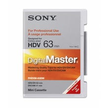 Sony PHDVM-63DM DigitalMaster DV/HDV/DVCAM Tape