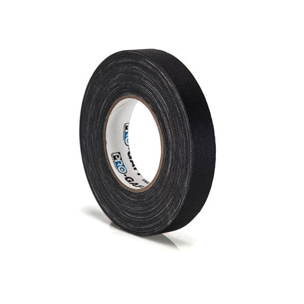 "Pro-Gaff 1"" Gaffer Tape (Camera Tape) - Black"