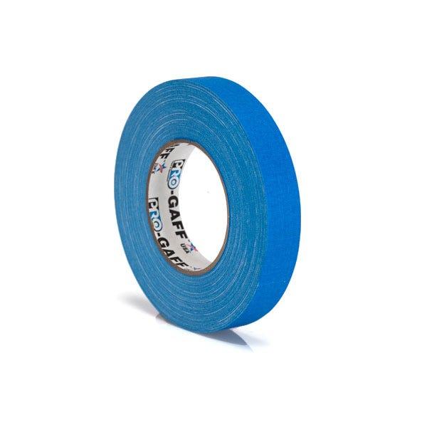 """Pro-Gaff 1"""" Gaffer Tape (Camera Tape) - Blue"""