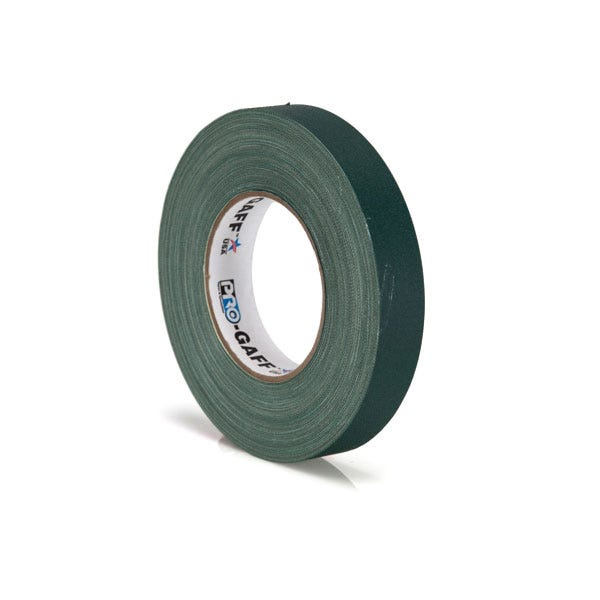 "Pro-Gaff 1"" Gaffer Tape (Camera Tape) - Green"