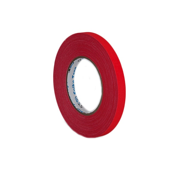 "Pro-Gaff 1/2"" Gaffer Tape (Cloth Spike Tape) - Red"