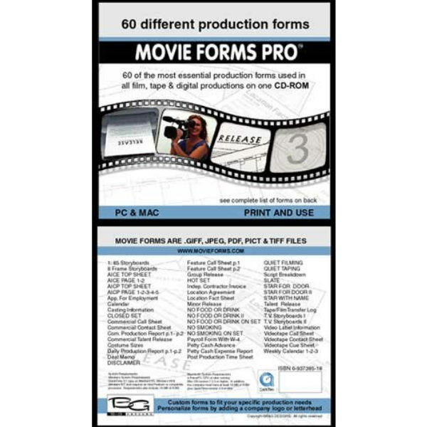 Movieforms Pro, Release 3. For MAC & PC