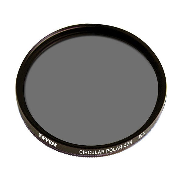 Tiffen 49mm Circular Polarizer Glass Filter